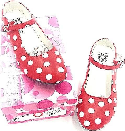 Flamenco Chaussures Enfant Espagnoles, Taille 35. Livré dans