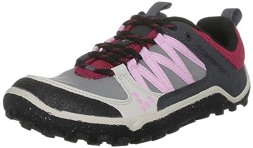 Vivo Barefoot - Zapatillas de Running de sintético para Mujer Gris Grey 36: Amazon.es: Zapatos y complementos