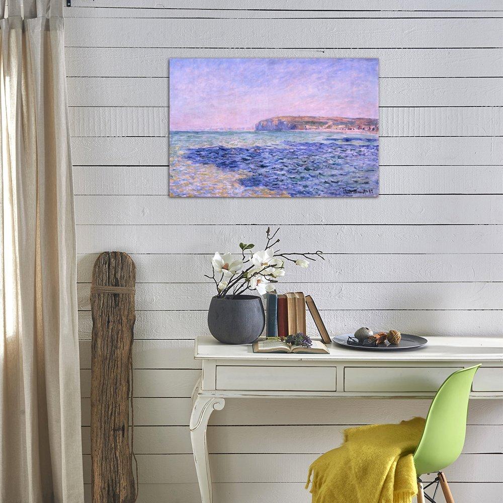Pourville #1 by Claude Monet Giclee Fine ArtPrint Repro on Canvas