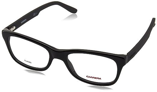 Amazon.com: Carrera 6653 Eyeglass Frames CA6653-0KUN-5418 - Black ...