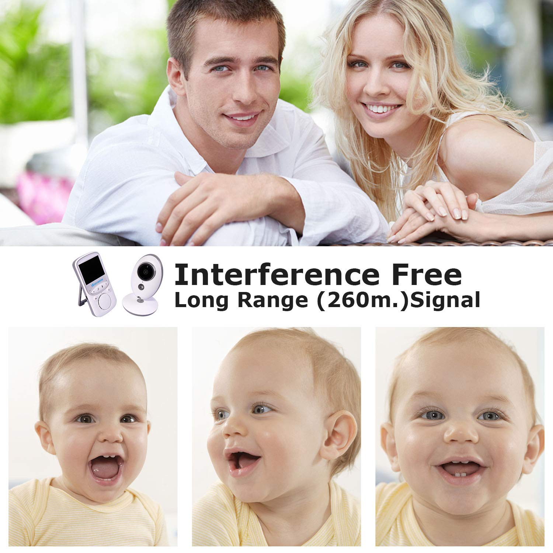 Baby Monitor Digitalkamera Wireless Monitor Baby Wiegenlied LCD Zwei-Wege-Gespr/äch VB601