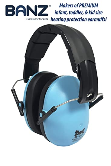 Best Hearing Protection >> Banz Kids Headphones Hearing Protection Earmuffs For Children Adjustable Headband To Fit All Ages