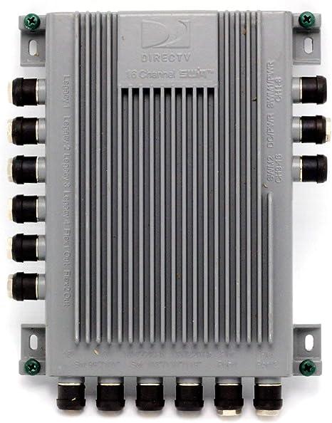 [SCHEMATICS_48IS]  Amazon.com: DIRECTV SWM16 Single Wire Multi-Switch (16 Channel) (SWM-16):  Electronics   Swm 16 Wiring Diagram      Amazon.com