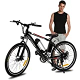 Amazon Com Ancheer Electric Mountain Bike With 36v 8ah