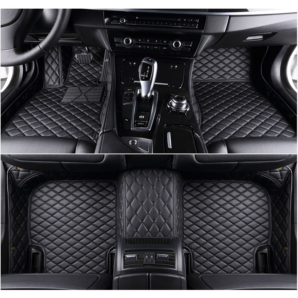 kaifeng for Dodge Charger 2011-2017 Car Floor Mats Custom Fit All-Weather 3D Covered Car mat Carpet FloorLiner Floor Auto Mats Coffee, 2011