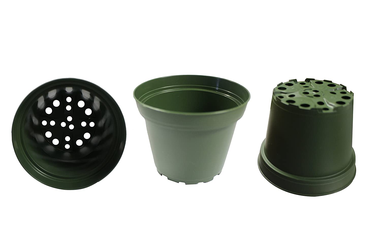 Amazon plastic pots for plants cuttings seedlings 4 inch amazon plastic pots for plants cuttings seedlings 4 inch 100 pack color terracotta garden outdoor workwithnaturefo
