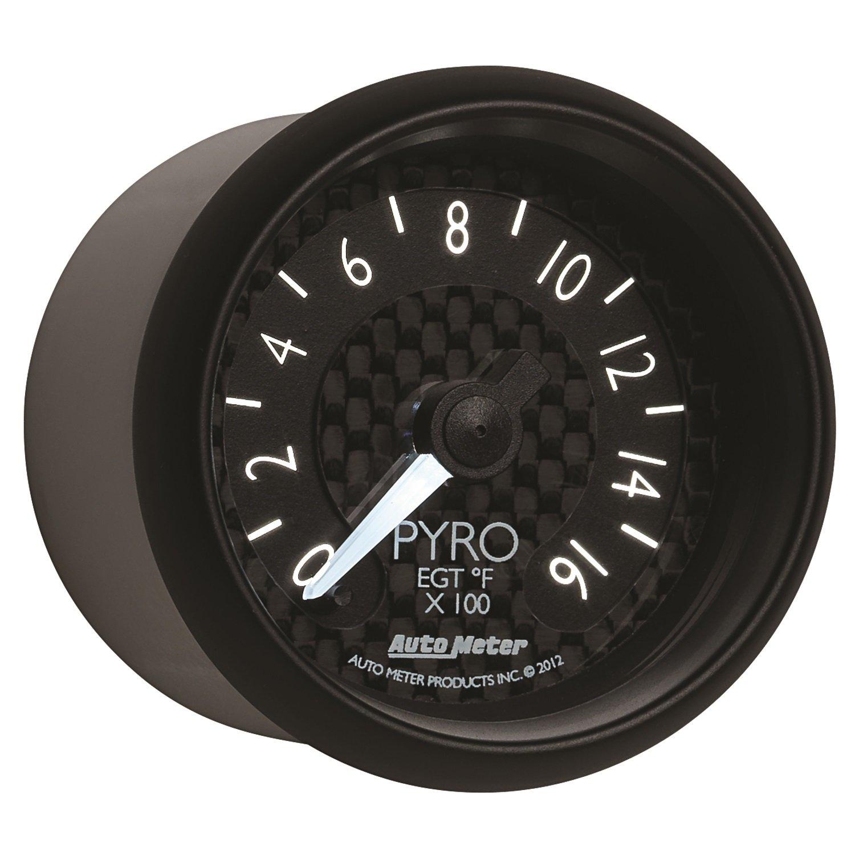 Auto Meter 8044 GT Series Electric Pyrometer/EGT Gauge by Auto Meter (Image #1)