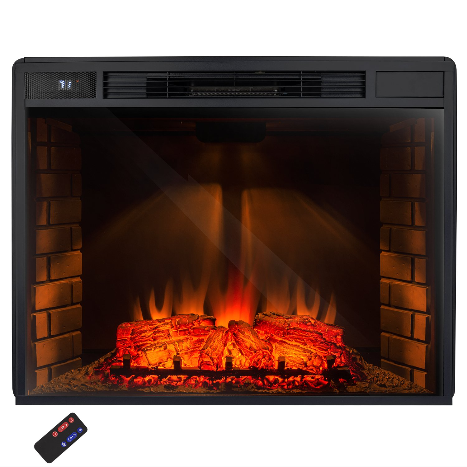 flame infrared built img console insert fireplace entertainment white in fireplaces electric center media valmont inch real