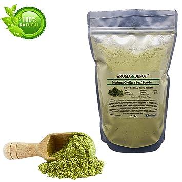 Amazon.com: Aroma Depot 2 lb / 32 onzas Moringa Oleifera ...