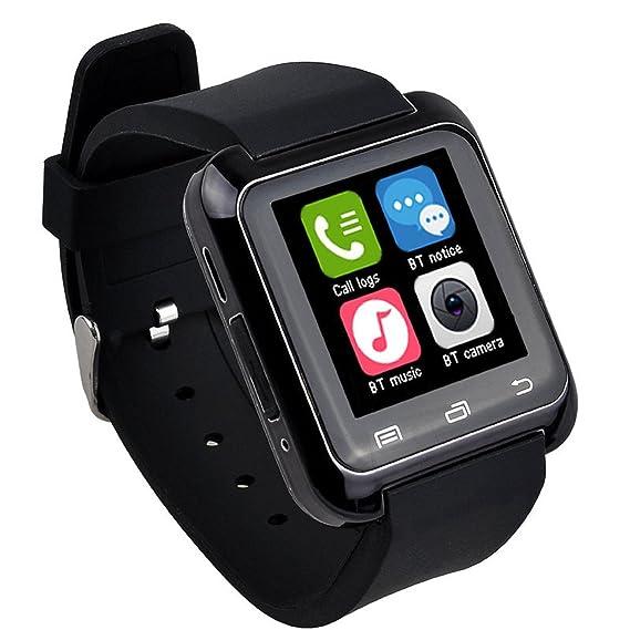 Smartwatch,Culater Smart Bluetooth muñeca Inteligente Reloj sana podómetro Monitor de sueño Alarma Calendario llamada