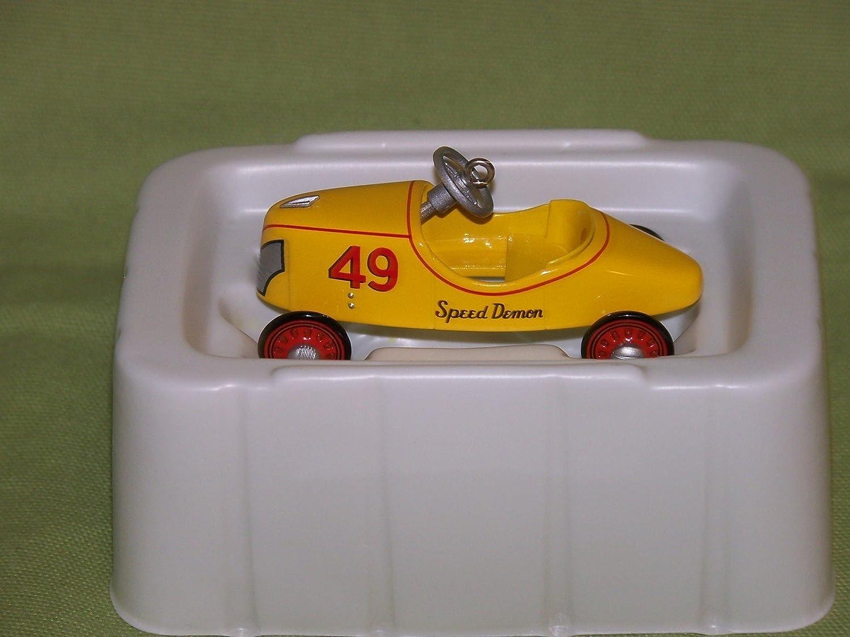 QEO8503 Hallmark Keepsake Ornament Kiddie Car Classics 1941 Garton Speed Demon The Winner/'s Circle