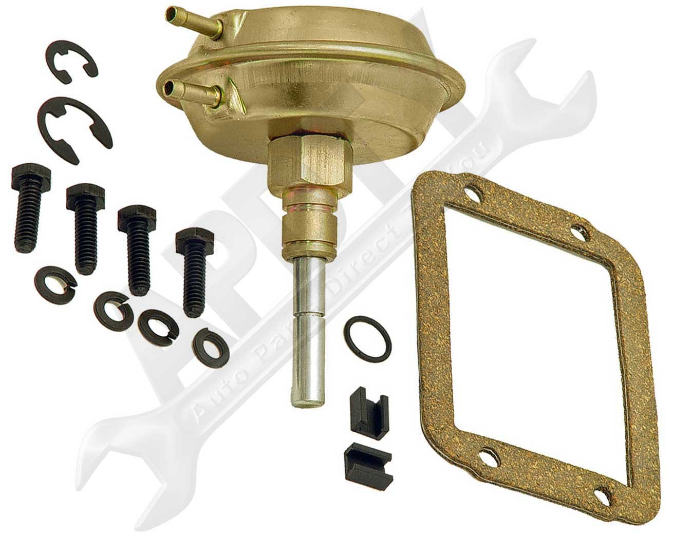 APDTY 711313 Front Axle 4WD Vacuum Actuator KIt Fits Select 91-95 Jeeps & 90-02 Dodge Models (See Description For Fitment Details; Replaces 4506116, 4882682)