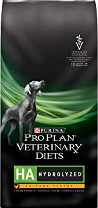 Purina Pro Plan Veterinary Diets HA Hydrolyzed Chicken Flavor Canine Formula Dry Dog Food - 25 lb. Bag