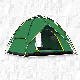 ME- Tente de Camping, Tente de Camping pour 3 à 4 Personnes Backpacking Tente de Sport en Plein air pour Tente de Camping, abris solaires