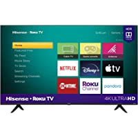 Hisense 55-Inch Class R6090G Roku 4K UHD Smart TV with Alexa Compatibility (55R6090G, 2020…