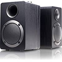 Mica USB-Powered Computer Speakers with 2.0CH Surround Sound (Black)