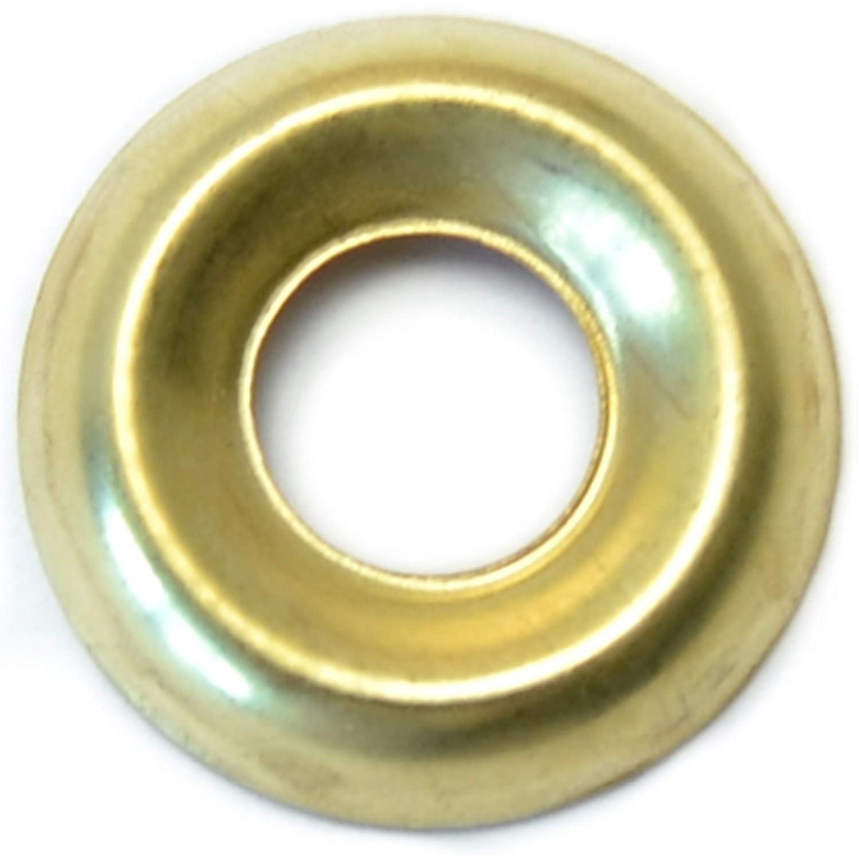 Hard to Find Fastener 6 Finishing Washer Brass 14 Piece 80