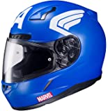 HJC CL-17 Motorcycle Helmet Marvel Series Captain America Blue Small