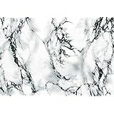 d-c-fix® 346-8031 - Pellicola autoadesiva in vinile effetto marmo, 67,5 x 200 cm, colore: Bianco