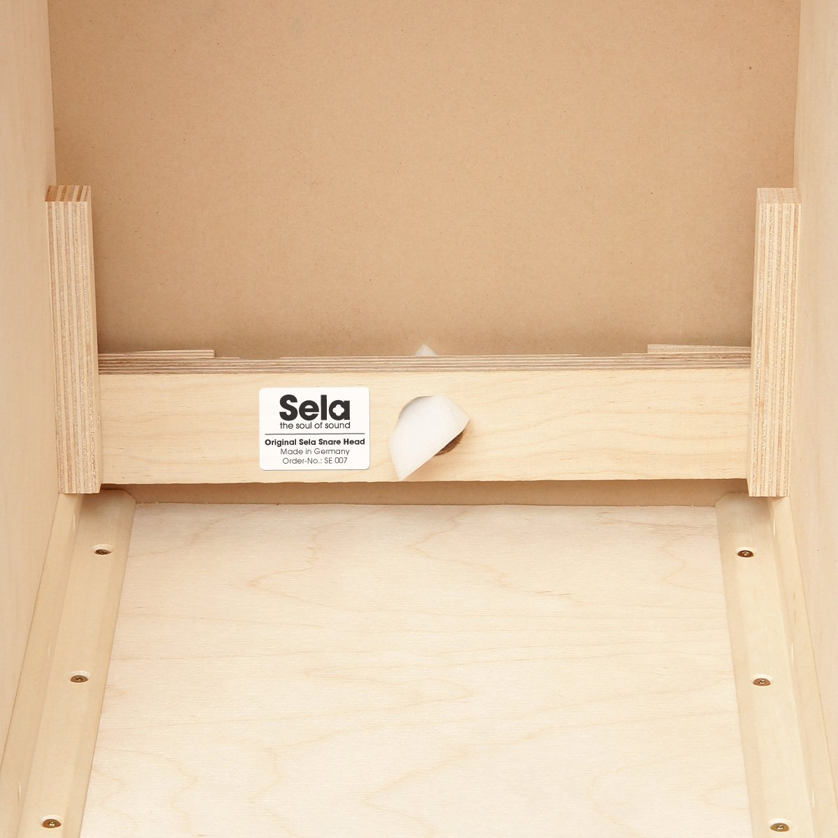 Sela SE 002A CaSela Satin Nut Professional Cajon with Removable Snare System and Special Clap Corners by sela (Image #5)