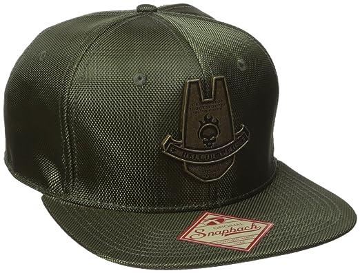 a70ea1beb7eed Bioworld Mens Halo Helljumper Deployment Badge Snapback Cap Baseball Cap -  Green -