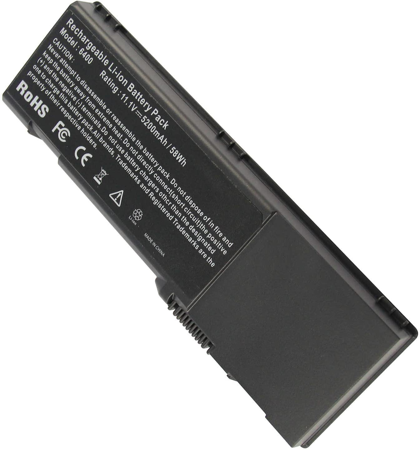 Fancy Buying Laptop Battery for Dell Vostro 1000 Latitude 131L, fits P/N BD41 CR174 D6400 GD761 HJ607 HK421 JN149 KD476 PD942 PD945 PD946 PR002 RD850 RD855 RD857 RD857B (6 Cells 11.1V 5200mAh)