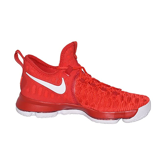 Amazon.com | Nike Mens Zoom KD 9 Basketball Shoe (12 (D) M US, University Red/White) | Basketball