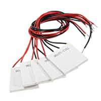 KIMILAR 5pcs TEC1-12706 12V 5.8A 72W Refrigerador termoeléctrico enfriamiento Módulo placa Peltier