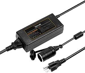 AstroAI AC to DC Converter, 6A/110Vto12V DC/72W, Car Cigarette Lighter Socket AC/DC Power Supply Adapter Transformer for Car Refrigerator, and Other Car Devices