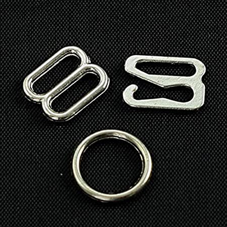 40sets Black Hook And Eyes 10mm Clothes Hooks Man Shirts Hooks garment accessories