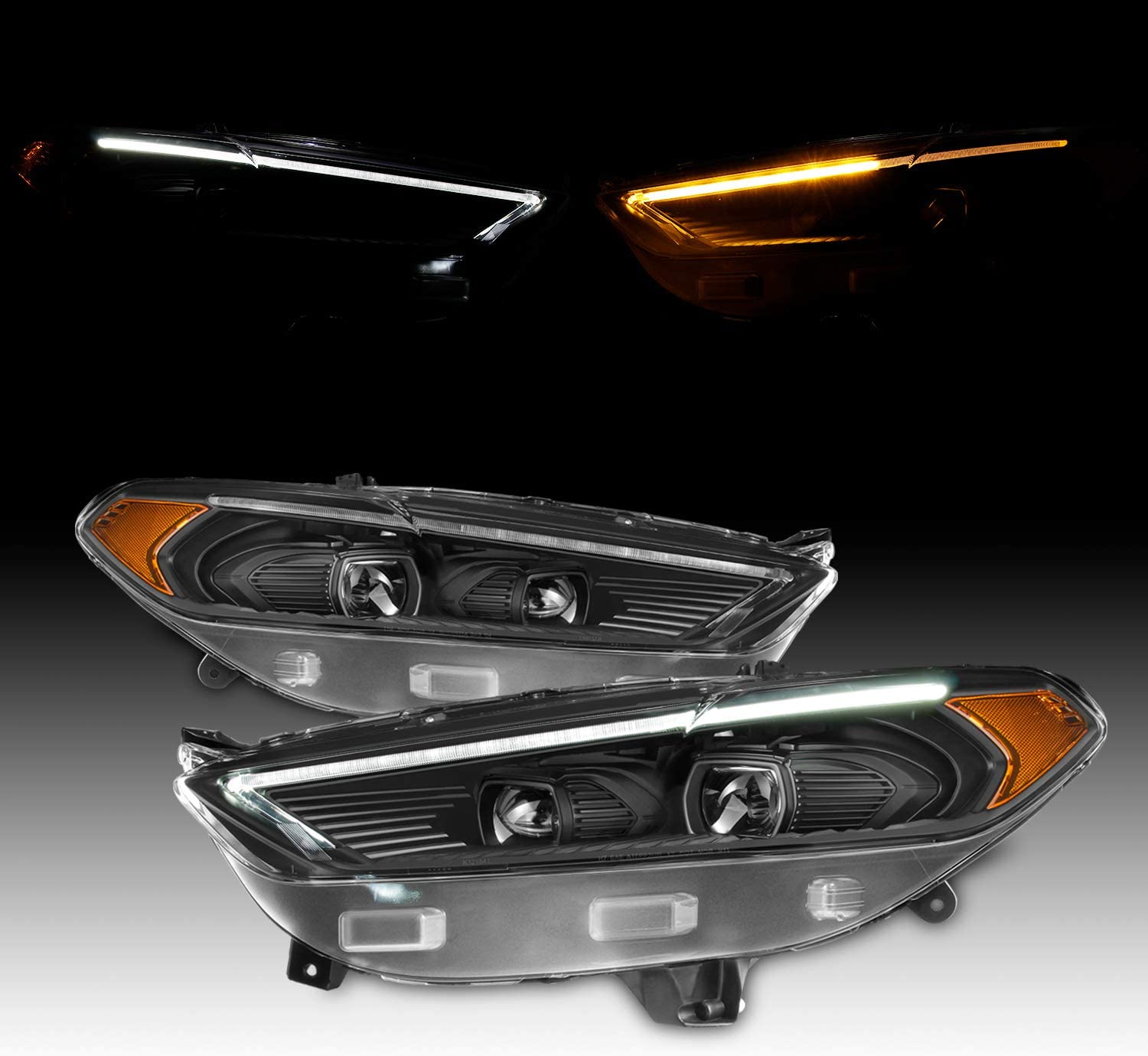 NEW 2013-2016 Ford Fusion Headlight Light Lamp Driver Side Left Halogen 13-16