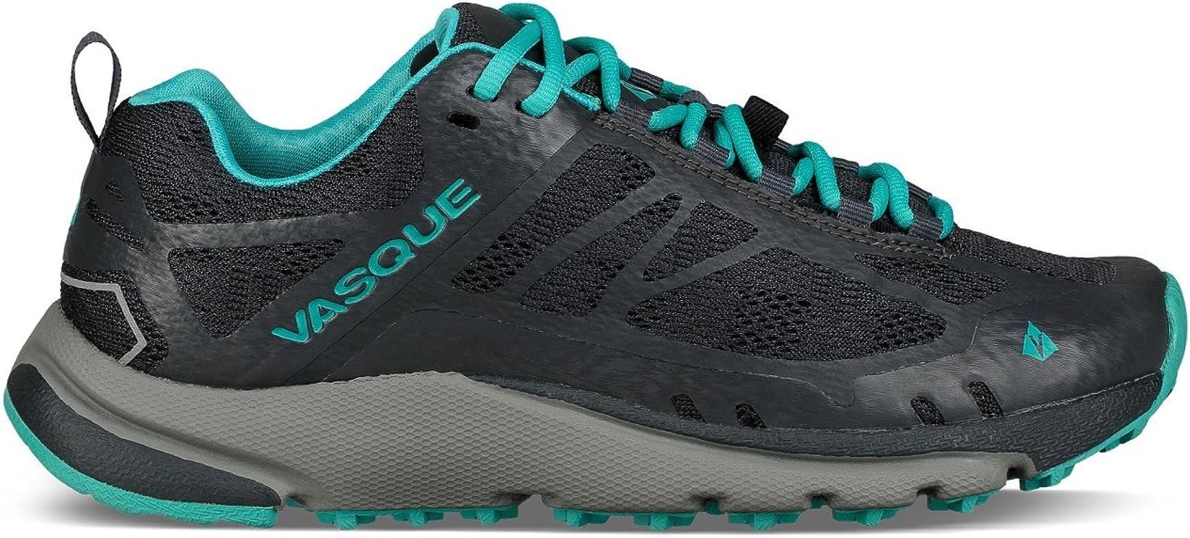 Vasque Trailbender II Trail Running - Zapatillas de senderismo para mujer, color ébano/Bluebird 10.5 M: Amazon.es: Zapatos y complementos