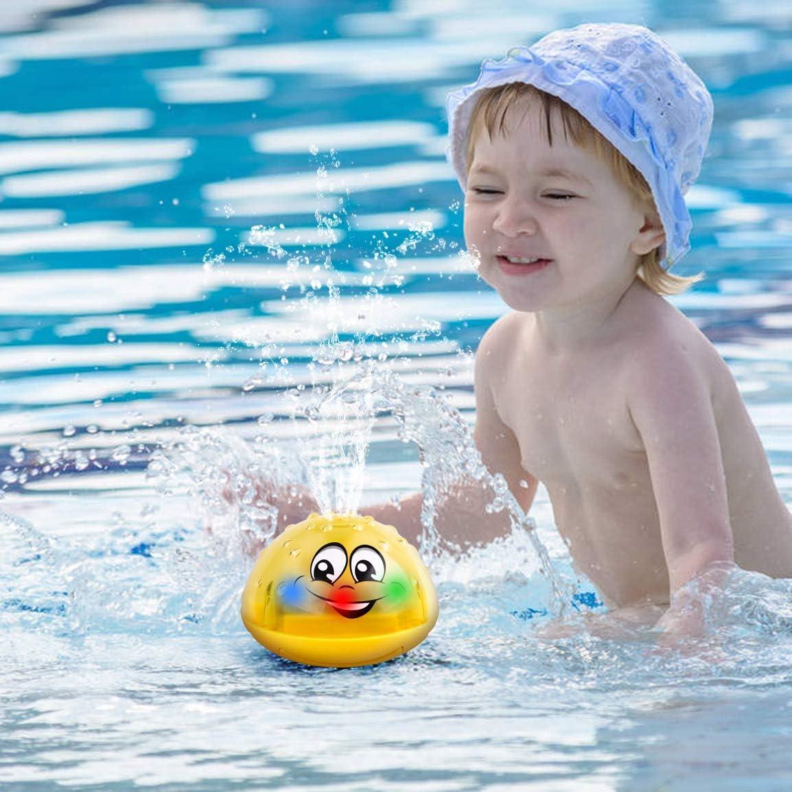 Refasy Children Bath Toys Automatic Water Spray Bathtub Toy for Kids Infant