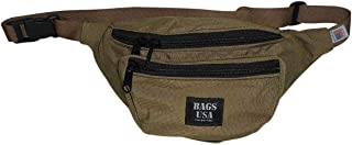 product image for Fanny Pack three Compartment,tough Cordura with YKK zipper Made in USA. (khaki)