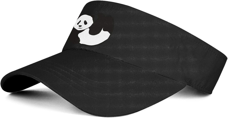 Abstract Panda Unisex Sun Visors Hat Unique Soft Ball Cap