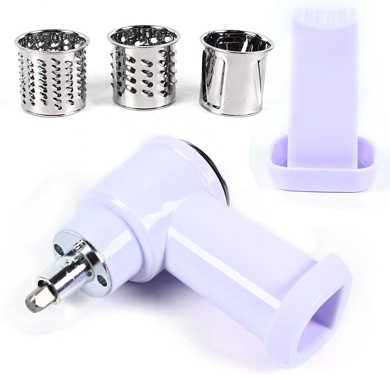 6PC Fruit Stand Mixer Accessory Kitchen Veg Kitchen Aid,Fruit Slicer Shredder Attachment