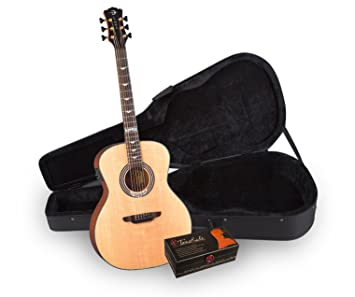 Luna ART DECO ll TR PK guitarra acústica/eléctrica unidades con ll ...