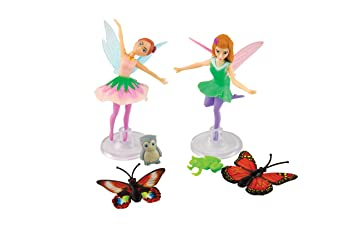 Amazoncom My Fairy Garden Fairy Friends Isla Poppy Playset
