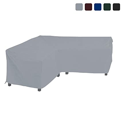 Tremendous Amazon Com Covers All Patio Sectional Sofa Cover 18 Oz Pdpeps Interior Chair Design Pdpepsorg