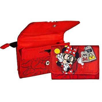 Vadobag Monedero niñas | Niños Portamonedas | Cartera | Disney Minnie Mouse: Amazon.es: Juguetes y juegos