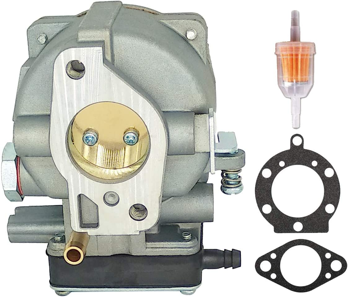YTLS 693480 Carburetor Replacement for Briggs & Stratton 693480 693479 694056 Craftsman LT1000 917270821 V-Twin + with Gaskets Fuel Filter