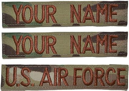 Custom USAF Multicam//Scorpion//OCP Tape with Uniform Hook Fastener 3pc Set