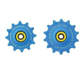 TRiPEAK Rueda de polea 12/14T Rodamiento de cerámica (Compatible con RAM MTB): Amazon.es: Deportes y aire libre