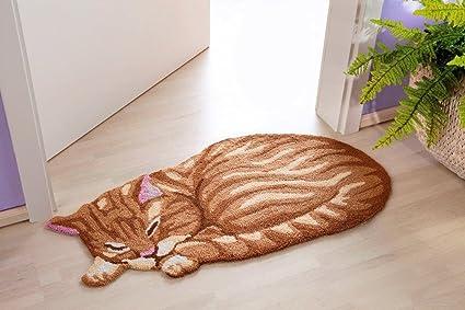 Alfombra gato Carpet Cat Diseño Gato Alfombra – Alfombra de pasillo
