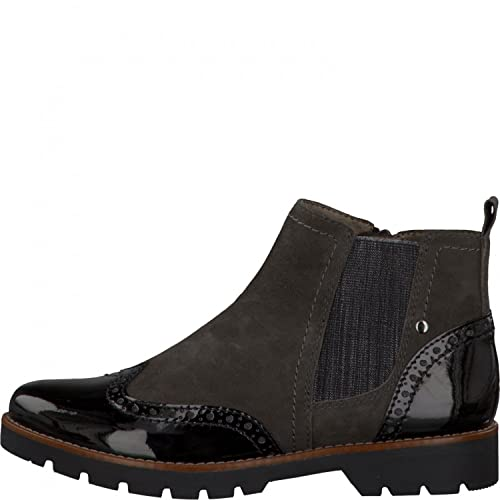 on sale 3349d a0b38 Jana Ladies Chelsea Boots 8-25400-284 graphite suede, Gr 37-42, H width,  Removable