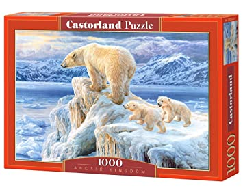 CASTORLAND Puzzle 1000 - Reyes del Polo Norte. 15102525: Amazon.es ...
