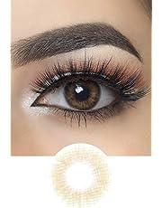 SpanishNatürlich Aussehend Kontaktlinsen (Real Hazel)