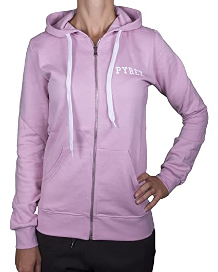 5558302f9f9931 Pyrex Felpa 34226 Donna Basic Con Zip e Cappuccio: Amazon.co.uk ...
