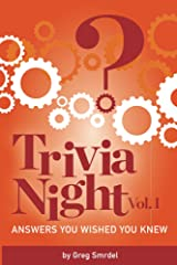 Trivia Night:  Answers You Wished You Knew (Trivia Night: Answers You Wished You Knew Book 1) Kindle Edition
