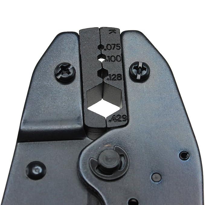 ... profesional con Troqueles para instalar Crimp Conectores en - Cable coaxial Cable coaxial crimpadora para rg-213 rg-8u rg-11 LMR-400 y cable Belden 9913 ...
